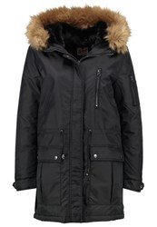 Schott Nyc Winter Coat Black