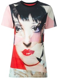 House Of Holland 'Liza Minelli' T Shirt Multicolour