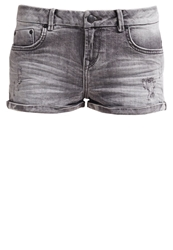 Ltb Judie Denim Shorts Wolf Grey Wash Destroyed Denim