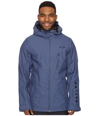 Oakley Cresent Biozone Shell Jacket Blue Shade Men's Coat