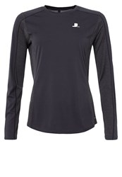 Salomon Agile Long Sleeved Top Asphalt Mottled Grey