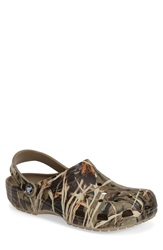 Crocs 'Classic Realtreetm' Camo Clog Slip On Men Khaki
