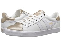 Gola Orchid Metallic White Gold Women's Shoes