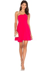 Lumier Stop And Believe Fit And Flare Dress Fuchsia