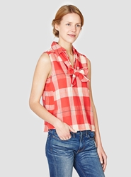 Ace And Jig Bow Blouse Punch