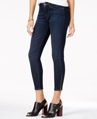 Tommy Hilfiger Greenwich Ocean Blue Wash Ankle Skinny Jeans Only At Macy's