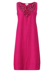 East Beaded Embellished Dress Pink