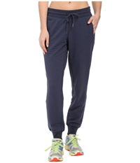 New Balance Essentials Classic Sweatpant Navy Women's Casual Pants