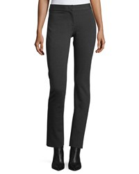 Derek Lam Mid Rise Jersey Leggings Charcoal Grey Women's