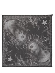 Givenchy Jesus Printed Modal And Silk Scarf