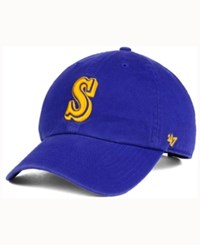 47 Brand '47 Seattle Mariners Cooperstown Clean Up Cap Royalblue