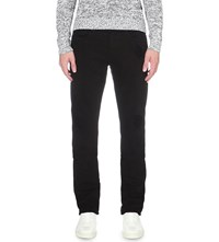 J Brand Tyler Slim Fit Straight Jeans Black Solace