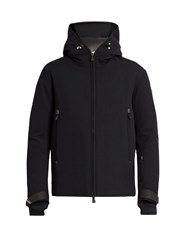 Moncler Praz Hooded Down Ski Jacket Navy Multi