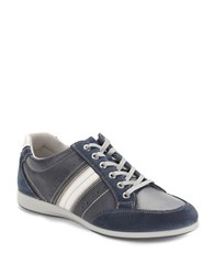 Kenneth Cole Reaction Combo Messanger Sneaker Navy Blue