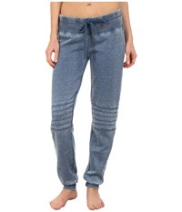 P.J. Salvage Vintage Moto Pants Denim Women's Pajama Blue