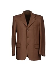 Sidi Suits And Jackets Blazers Men Camel