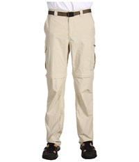 Columbia Silver Ridge Convertible Pant Fossil Men's Clothing Beige
