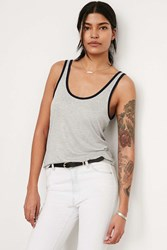 Bdg Game On Ringer Tank Grey Multi