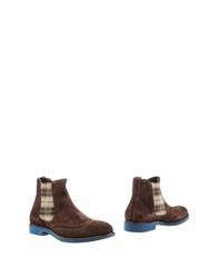 Doucal's Ankle Boots Dark Brown
