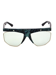 Cerruti Marble Effect Acetate Sunglasses