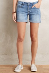 Pilcro Stet Roll Up Shorts Light Denim