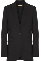 Michael Kors Stretch Wool Twill Blazer Black