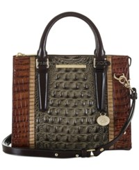 Brahmin Nottingham Anywhere Convertible Satchel A Macy's Exclusive Style Forest
