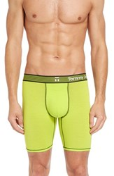 Tommy John Men's 'Cool Cotton Bold' Boxer Briefs Galactic Yellow