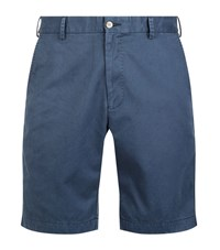 Peter Millar Winston Wash Chino Shorts Male Navy