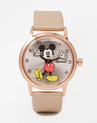 Disney Rose Gold Mickey Mouse Watch Rosegold