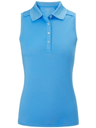 Callaway Opti Dri Sleeveless Polo Blue