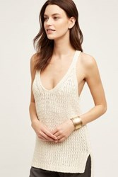 Anthropologie Sunidra Tank Ivory