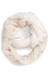 Junior Women's Bp. Floral Print Infinity Scarf