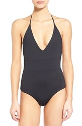Women's Tavik 'Chase' Colorblock One Piece Swimsuit Black