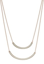 Miss Selfridge Necklace White