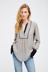 Free People Womens Bird Striped Pullove