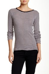Edith A. Miller Crew Neck Long Sleeve Tee Multi
