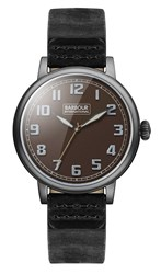 Barbour Bb042bkbk Gents Strap Watch
