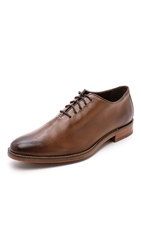 Cole Haan Preston Whole Cut Oxfords Dark Brown