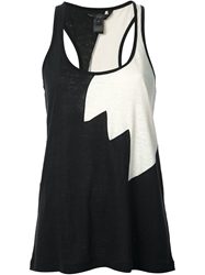 Marc By Marc Jacobs 'Carmen' Flame Tank Top Black