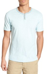 Men's Lucky Brand 'Notch' Knit Short Sleeve Henley