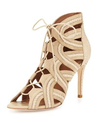 Joie Dean Lace Up Gladiator Pump Dusty Pink Sand