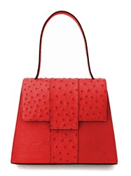 Bernice Angelique The Provocatrix Top Handle Bag Scarlet Red