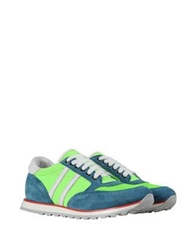 George J. Love Low Tops And Trainers Acid Green