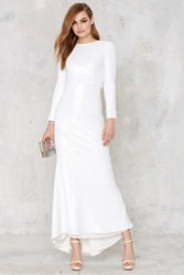 Nasty Gal Line And Dot Royale Sequin Maxi Dress