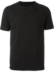 Transit Exposed Seam T Shirt Black