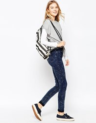 Blend She Moon Punk Jeans Blackblue