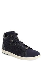 Men's Ted Baker London 'Stoorb 2' Sneaker Dark Blue Textile