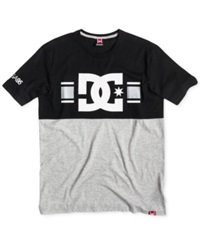 Dc Shoes Rd Icon Colorblocked T Shirt Black