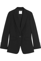 Dkny Open Back Crepe Blazer Black